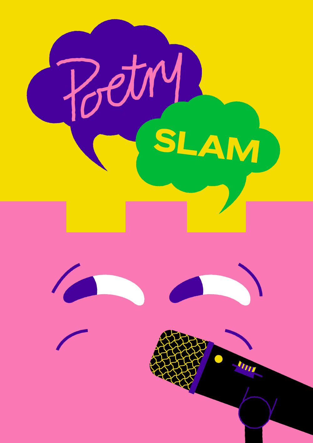 plakat poetry slam